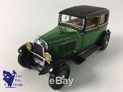 1/43 Roland Devos Citroen C6 Berline 1928 Vert Et Noir