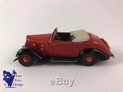 1/43 Roland Devos Latude Peugeot 301 Cabriolet Rouge