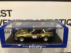 1 43 Spark MAD010 Porsche 924 GTS Metz Rallye Röhrl 1981 Monnet DRM