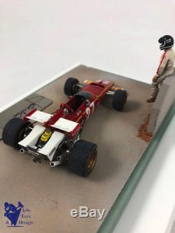 1/43° Suber Ferrari F1 312b Jacky Ickx Grand Prix Belgique 1970