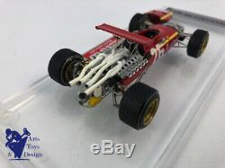 1/43 Tameo Microsprint Ferrari 312 F1 Gp France 1968 1st J. Ickx Factory Built
