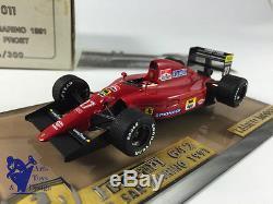 1/43° Tameo Models Factory Built Ferrari F1 642 Gp San Marino 1991 Alain Prost