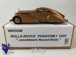 1/43 Vroom Rolls Royce Phantom I 1925 Jonckheere Round Rolls No Fyp Top Marques
