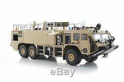 1/50 METAL CAMION MILITAIRE OSHKOSH Striker 3000 ARFF OMAN FIRE TRUCK