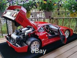 1/8 Pocher Rivarossi Ferrari F40 Red K55
