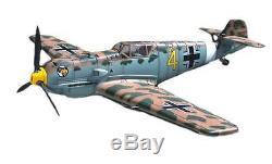 21ST CENTURY 1/18 AVION Messerschmitt BF 109E 4 yellow 4 tropical