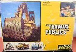 22699 Solido / France / 451 Coffret Travaux Publics 1/50