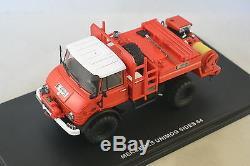 ALERTE 026 Mercedes Unimog CCF Sides Pompiers 64 1/43