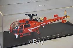 ALERTE 054 Sud-Aviation Alouette III sécurité civile Hélicoptère Pompiers 1/43