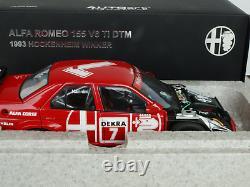 ALFA ROMÉO 155V6 DTM 1/18 winner hockenheim 1993 NANNINI Autoart