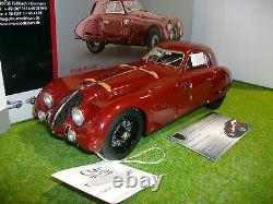 ALFA ROMEO 8C 2900B SPECIALE TOURING COUPE bordeaux 1938 o 1/18 CMC M107 voiture