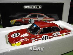 ALFA ROMEO GTA 1300 JUNIOR 1971 #40 1/18 Minichamps 100711240 voiture miniature