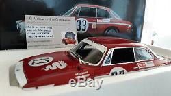ALFA ROMEO GTA 1300 JUNIOR 1972 rge # 33 LENNEP JARAMA 1/18 Minichamps 100721233