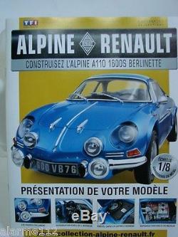 ALPINE RENAULT A110 1/8 Kit Eaglemoss pas Ottomobiles