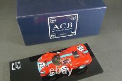 AMR. FERRARI 412 P. Le Mans 1967. + Boite. (série limitée ACB)