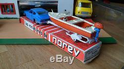 Ancien Coffret Norev Plastique Fiat Dino Dinghy Rocca N°92 Ech 1/43 Eme