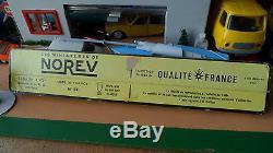ANCIEN COFFRET NOREV PLASTIQUE SIMCA 1100 VOILIER 505 N°94 ECH 1/43 EME