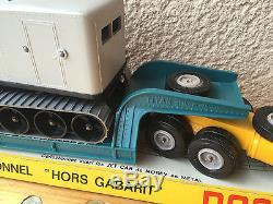 Ancien Norev Berliet Tbo Titan Convoi Exceptionnel Hors Gabarit Ech 1/43