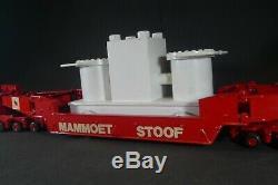 ASAM. KIT monté. MAMMOET. Attelage SCAMMELL avec remorque de 275 tonnes. 1/48