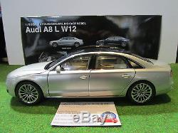 AUDI A8 L W12 gris cuvee silver au 1/18 KYOSHO 09231CS voiture miniature