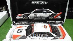 AUDI V8 QUATTRO DTM 1991 #2 HAUPT au 1/18 MINICHAMPS 100911002 voiture miniature