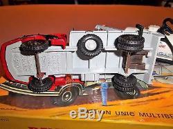 Authentique Dinky Toys Unic Multibenne Et Citerne En Coffret Ref 805