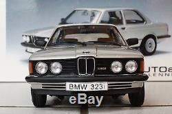 AUTOART 1/18 BMW 323i SILBER, OVP, wie neu