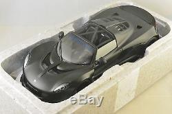 AUTOART 75401 HENNESSEY Venom GT 2013 noir Matt carbon 1/18