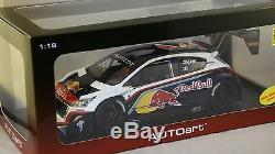 AUTOART 81354 Peugeot 208 T16 1er Pikes Peak 2013 Loeb Red Bull 1/18