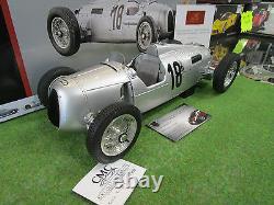 AUTO UNION TYPE C # 18 ROSEMAYER EIFELRENNEN d 1936 au 1/12 CMC C008 voiture min