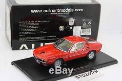 AUTOart, 118 Alfa Romeo Montreal Coupé 1970 Red/Rouge (70171)