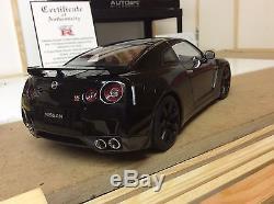 AUTOart 118 Scale Nissan Skyline R35 GTR Boxed RARE