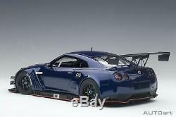 AUTOart 1/18 Nissan Skyline Nismo GT3 Aurore Évasé Bleu Perle 81584 DHL