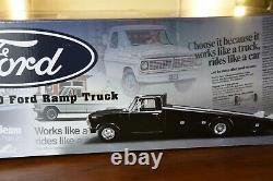 Acme 1801400 Ford F-350 Camion Plateau 1970 Noir 1/18