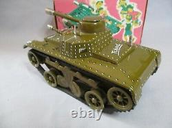 Ak173 Joustra Tank Char Tchad N° 10 Ref 700 En Boite Bon Etat
