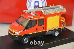 Alerte 091 Iveco Daily 2014 Double Cabine Magirus Camiva Ccirl Pompiers 1/43