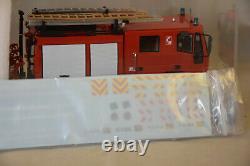 Alerte 099 Iveco Eurocargo Fpt Sides Neutre Avec Decalques Pompiers 1/43