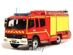 Alerte 1/43 Camion Pompiers Mercedes Benz Atego Gicar Ftp Sdis 83