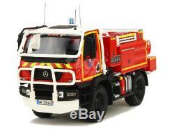 Alerte Mercedes Unimog U20 CCF Massias Pompier 1/43