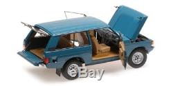 Almost Real ALM810101 RANGE ROVER 1970 BLUE 1/18