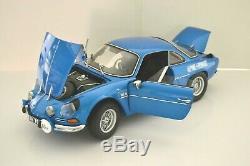 Alpine-Renault A110 1600S berlinette 1975. Eaglemoss 1/8. Monté + livre EPA