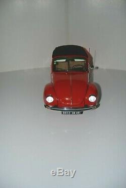 Altaya-Ixo 1/8. Volkswagen 1303 Cabriolet. Modèle monté + livre. Réf. M 07076