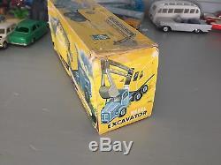 Ancien Norev Plastique Codeg Rare Berliet Tbo Pelle Hong Kong 3743