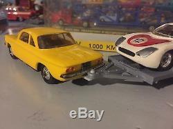Ancien Rare Norev Plastique Coffret 1000 Km Spa Numero 110 Ech 1/43 Eme