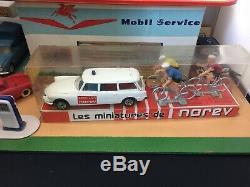 Ancienne Norev Plastique Coffret Tour Cycliste N°211 Citroen ID 19 Ech 1/43 Eme