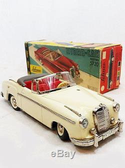 5720 Schuco Voiture Hydrocar Mercedes 220 SBoîte Ancienne Tôle 1960 D29EIH