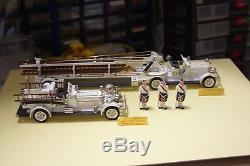 Ashton Models N° 38-1925 Aerial Leader & 41- Pumper Arens Fox Serie Gold
