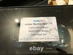 Aston Martin One 77 open/close Frontiart 118