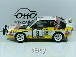 Audi Quattro Röhrl RALLYE MONTE CARLO 1985 1/18 otto