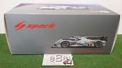 Audi R8 Etron Winner Le Mans 2012 #1 Fassler Lotterer Treluyer 1/18 Spark 18lm12